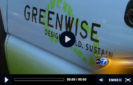 Greenwise on ABC 7 Chicago News Landscaping with a lighter footprint