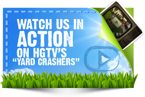 watch greenwise lawncare in action on hgtv's yardcrashers