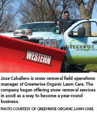Greenwise snow removal