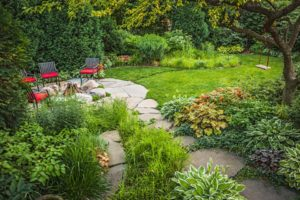 Rain gardens will add beauty and help storm-proof your property