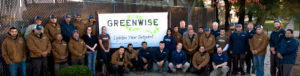 The Greenwise Team in front of our Evanston Shop on Main Street.