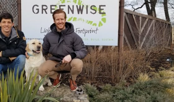 Marc Wise and Austin Hall, Greenwise's new owner