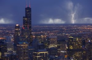 Passing thunderstorm that hit Chicago in the summer months may still not provide enough water to keep lawns and gardens healthy.