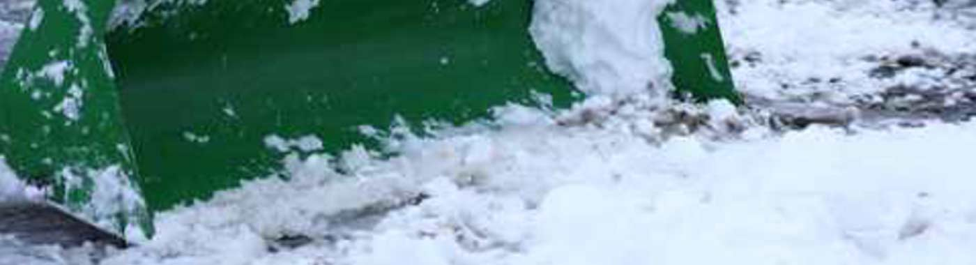 Snow removal and eco-friendly ice melt
