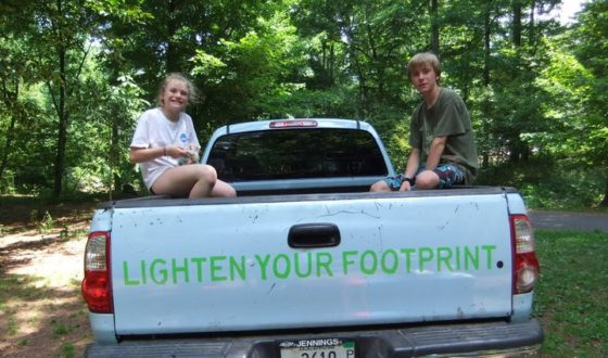 lighten your footprint