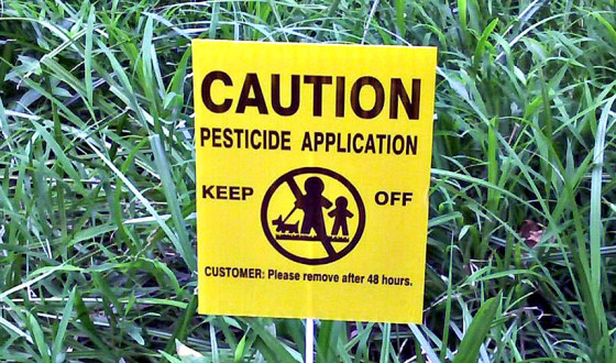pesticide-caution