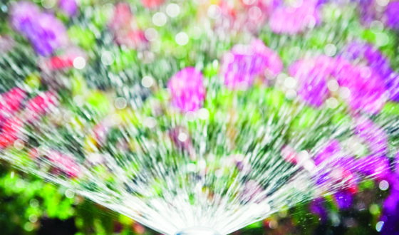 Flowerbed Automatic Water Sprinkler